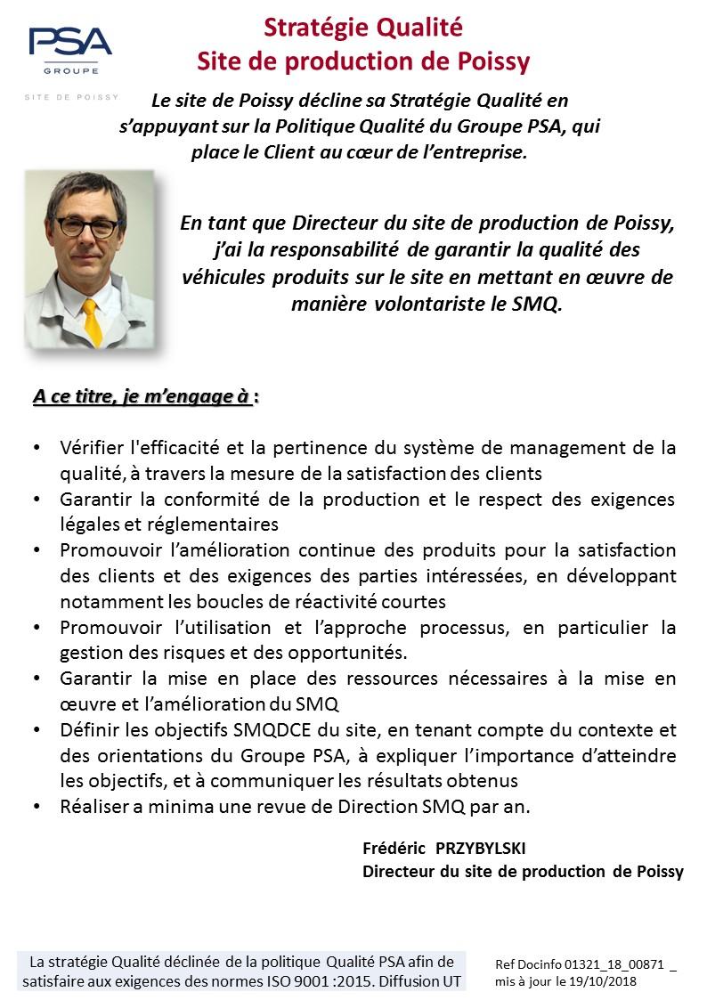 Exemple Politique Qualité Iso 9001 Version 2015 - Exemple ...